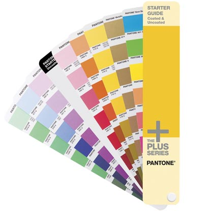Веер Pantone STARTER GUIDE Solid Coated & Uncoated , 543 цвета