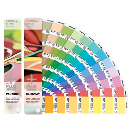 Веер Pantone FORMULA GUIDE Solid Coated & Solid Uncoated, 1867 смесевых цветов